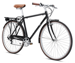 Fuji Regis City Commuter Bike Black 2018 - Order NOW in time for Holidays!
