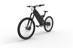 Electric Commuter Bike >> Stealth P7 Electric Commuter Mountain Bike Black Free Headlight
