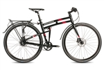 Montague Allston Hybrid Folding Bike 2018 BONUS Soft Bag - Black Friday Sale NOW at Bikecraze.com