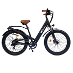Bagi B26 Fat 500W Step Thru Electric Bike Black 2020 - Early Fall Sale