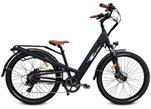 Bagi B27 Premium 500W Step Thru Electric Bike Black - Early Fall Sale
