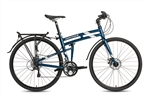Montague Navigator Hybrid Folding Bike 2018 BONUS Soft Bag - Black Friday Sale NOW at Bikecraze.com