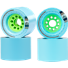 Orangatang Kegal 80mm Longboard Skateboard Wheels Blue - Hot Summer Sale NOW!