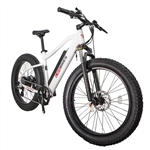 CIVI Predator Fat Tire 500W Electric Bike Pearl White 2018 - April Spring Sale NOW!