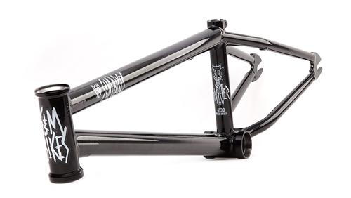 S&M Dagger BMX Bike Frame Gloss Black - Huge Black Friday Sale NOW ...