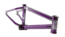 S&M Dagger BMX Bike Frame Sour Grape - Order NOW in time for Holidays!