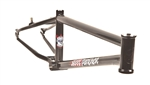 S&M Steel Panther BMX Frame Gloss Black - We are open and you can shop in-store and online safely today!