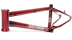 S&M Steel Panther BMX Frame Candy Red - We are open, restocked and ready - shop in-store and online safely today!