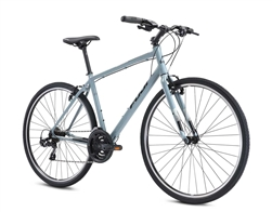 Fuji Absolute 2.1 Flat Bar Hybrid Bike Cool Gray 2021 - We are open, restocked and ready - shop in-store and online safely today!