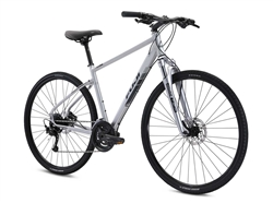 Fuji Traverse 1.3 Lifestyle Commuter Bike Gray 2021 - We are open, restocked and ready - shop in-store and online safely today!