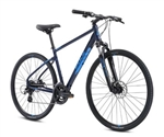Fuji Traverse 1.5 Hybrid Bike Blue 2021 - We are open, restocked and ready - shop in-store and online safely today!