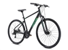 Fuji Traverse 1.7 Hybrid Bike Satin Black Green 2021 - We are open, restocked and ready - shop in-store and online safely today!