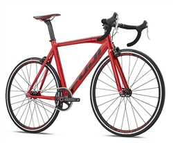 Fuji Track Pro USA Fixed Gear Road Bike Red Black - Early Fall Sale