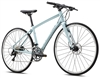Fuji Silhouette 1.1 Disc Flat Bar Hybrid Bike Green Blue - 48 Hour Sale Now!