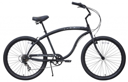Firmstrong Bruiser Prestige 7 Speed Mens Beach Cruiser Bike - April Spring Sale NOW!