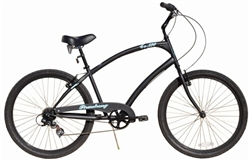 Firmstrong CA520 Alloy 7 Speed Mens Cruiser Bike - Last Minute Holiday Sale Now!