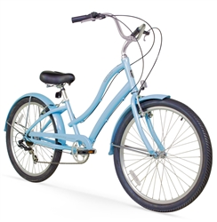 Firmstrong CA520 Alloy 7 Speed Ladies Cruiser Bike - Hot Summer Sale NOW!