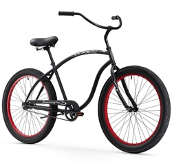 Firmstrong Chief 3.0 Single Speed Mens Beach Cruiser Bike - Last Minute Holiday Sale Now!