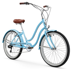 Firmstrong Chief 7 Speed Ladies Beach Cruiser Bike - (24-Hour Sale NOW!)