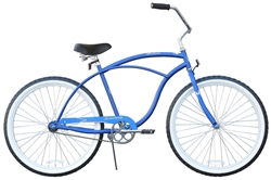 Firmstrong Urban Man Single Speed Beach Cruiser Bike - (24-Hour Sale NOW!)