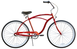 Firmstrong Urban Man 3 Speed Beach Cruiser Bike - Last Minute Holiday Sale Now!