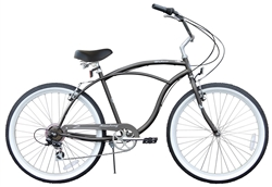 Firmstrong Urban Man 7 Speed Beach Cruiser Bike - May Spring Sale NOW!
