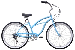 Firmstrong Urban Lady 7 Speed Beach Cruiser Bike - Early Fall Sale