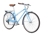 Fuji League Step Thru City Bike Sky Blue 2018 - (24-Hour Sale NOW!)