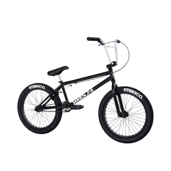 Fit Series One MD BMX Bike Gloss Black 2021 - We are open, restocked and ready - shop in-store and online safely today!