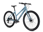 Breezer Midtown 1.7 LS Low Step Hybrid Bike Glacier Blue 2021 - We are open, restocked and ready - shop in-store and online safely today!