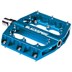 Blackspire Sub4 Enduro Mountain Bike Pedals Blue - 24 Hour Sale Now!