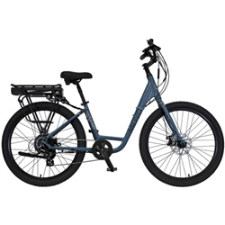 KHS Movo 1.0E Step Thru Electric Cruiser Bike 2021 - We are open, restocked and ready - shop in-store and online safely today!