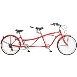 Manhattan Tandem Duo 7 Speed Beach Cruiser Bike - We are open, restocked and ready - shop in-store and online safely today!