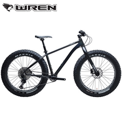 KHS 4 Season 3000 Wren Fork Fat Tire Bike Shimmering Black | 48-Hour Sale Going On Now!