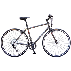 KHS Urban One 11 Hybrid Bike Matte Gray 2018 | 48-Hour Sale Going On Now!