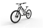 Stealth P7 Electric Commuter Mountain Bike Snow White FREE - Early Fall Sale