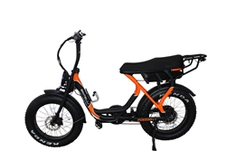 Bintelli Fusion Fat Tire 750W  Super Moto Style Electric Bike - We are open, restocked and ready - shop in-store and online safely today!