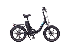 Magnum Premium II Low Step Folding Electric Bike Black 2021 - We are open, restocked and ready - shop in-store and online safely today!