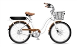 Electric Bike Company Model S Classic Step Thru Beach Cruiser Bike - We are open, restocked and ready - shop in-store and online safely today!
