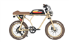 Michael Blast Outsider 500 Retro Fat Tire Electric Bike Tan - We are open, restocked and ready - shop in-store and online safely today!