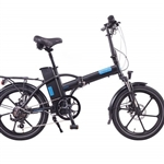 Magnum Premium 48 High Step Folding Electric Bike Black - (24-Hour Sale NOW!)