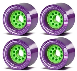 Orangatang Kegal 80mm Longboard Skateboard Wheels Purple - Black Friday Sale NOW at Bikecraze.com