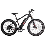 CIVI Predator Fat Tire 500W Electric Bike Matte Black - Hot Summer Sale NOW!
