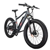 REVI Predator Fat Tire 500W Electric Bike Matte Platinum Grey - We are open, restocked and ready - shop in-store and online safely today!
