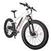 CIVI Predator Fat Tire 500W Electric Bike Pearl White - 48 Hour Sale Now!