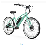 Firmstrong Urban Lady 350W Electric Beach Cruiser Bike Mint Green - We have a huge sale going on NOW!
